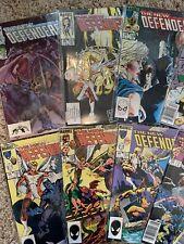 Defenders Comic book lot 24 books all mint or near mint