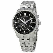 Citizen Men's Eco-Drive Perpetual Calendar Silver-Toned Steel Watch BL8140-55E