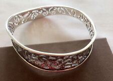 NEW (Ex Display) Silpada Sterling Silver Wavy Bangle B2082
