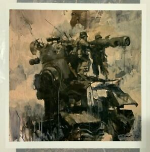 War Fixers - Ashley Wood - Signed and Numbered Screen Print Street Art Banksy