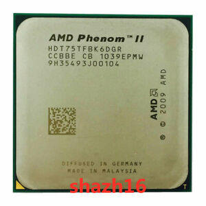AMD Phenom II X6-1075T 3GHz AM3 6-Core 125W CPU Processor HDT75TFBK6DGR CPU