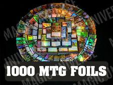 1000 MTG FOILS Magic The Gathering - ALL FOILS ONLY! Mint!