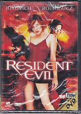 Dvd **RESIDENT EVIL 1** con Milla Jovovich Michelle Rodriguez nuovo 2002