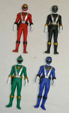 "Bandai Power Rangers RPM 6"" Vinyl Figure LOT Red Blue Black Green"