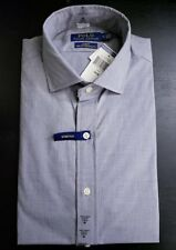 Polo Ralph Lauren Mens Gray Slim Fit Casual Button Down Shirt Size M