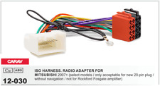 CARAV 12-030 Conector ISO OEM Radio Adaptador MITSUBISHI 2007+