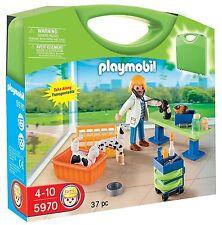Playmobil - City Life - 5970 - Mitnehm-Köfferchen Tierarzt - NEU OVP