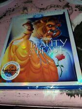 Beauty and The Beast (1991) HD + BLU-RAY + DVD! Brand New!! w/ Slip case!!