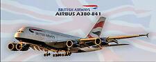 British Airways Airbus A380 Photo Magnet (PMT1580)