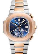 Patek Philippe Nautilus Stainless Steel And Rose Gold Men's Watch