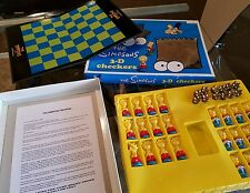 THE SIMPSONS BART & LISA 3D COMES CHINESE CHECKERS SET BOARD GAME