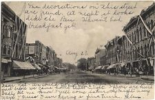 Rare Postcard  Main Street, Medina, N.Y.  Dated 1906