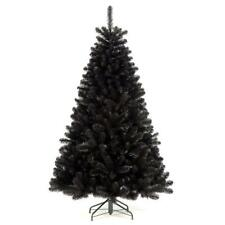 180cm (6ft) Christmas Longacres Arctic Artificial Spruce Black Tree
