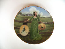 Collectors Plate The Final Out-Take The Green Muslin Dress