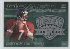 2002 Pacific Draft Force Patrick Ramsey #17 Rookie