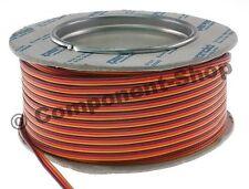 25 m Roll of JR light weight servo wire 26awg - UK seller