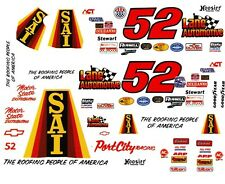 #52 Lane Automation Chevy Port City Racing 1/24th -1/25th Decals Slot Car