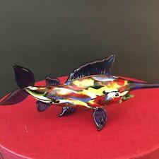 Fitz and Floyd Glass Menagerie Sword Fish 43/148 in Original Box