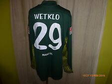 """FSV Mainz 05 Nike Torwart Matchworn Trikot 2011/12 """"entega"""" + Nr.29 Wetklo Gr.XL"""