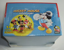 Panini 90 Jahre Micky Maus Sticker Story - 1 x Display Flowpacks NEU & OVP