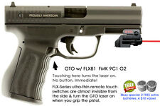 ArmaLaser GTO for FMK 9C1 G2 RED Laser Sight w/ FLX81 Grip Touch On/Off