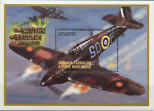 "GRENADA - 2000 MNH ""WWII Battle of Britain - Hawker Hurricane"" Souvenir Sheet !!"