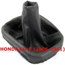 Black Stitch Gear GAITER GAITOR Leather for Honda CRV Cr-v 2006-2011