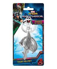 Marvel Thor Ragnarok Movie Half Helmet Pewter Key Ring Key Chain NEW UNUSED