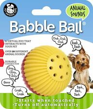 Pet Qwerks Small Animal Sounds Babble Ball Toy for Dogs