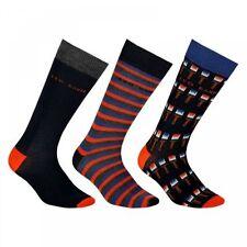 Ted Baker Men's Cotton Blend Long Socks ,Multipack