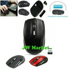 2.4GHz Wireless 2000 DPI Cordless Optical Mouse Mice USB Receiver For PC Laptop