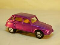 Vintage Corgi Juniors 89 Citroen Dyane Diecast Metallic Purple Model Car Toy
