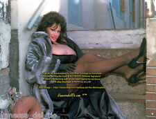 Vanessa del Rio ADULT Star Photo Fur Coat by Meat Warehouse! Sign AFT BUY w/COA