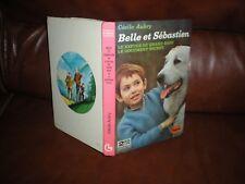 BELLE ET SEBASTIEN - ALBUM 2 EN 1 LES GRANDS LIVRES HACHETTE 1974 - CECILE AUBRY