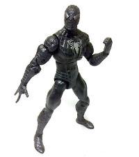 """Marvel Legends Comics SPIDERMAN  BLACK VENOM COSTUME 5"""" figure, unboxed RARE"""