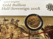 2008 Gold Bullion Half Sovereign