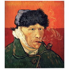 Van Gogh, Self Portrait w/ Bandaged Ear Deco FRIDGE MAGNET, 1889 Fine Art Repro