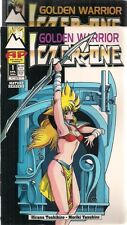 GOLDEN WARRIOR ICZER-ONE lot (2) issues #1 & #2 (1994>) Antarctic Press comics
