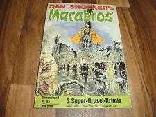 3x Dan Shockers: MACABROS - # 94 SCHWARZE HEXE - # 95 DWYLUP - # 96 Drachentöter