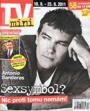 ANTONIO BANDERAS Tom SELLECK LISA EDELSTEIN Dr.HOUSE ALEX O'LOUGHLIN Magazine