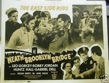 Orig. 'NEATH THE BROOKLYN BRIDGE 1942 Set Lobby Cards