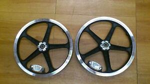 "Strida 16"" wheel set - black"