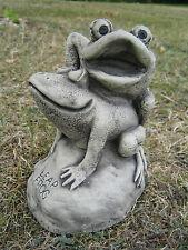 SHAGGING  frogs stone garden ornament <<VISIT MY SHOP>>