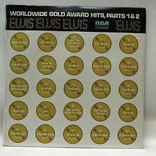 Elvis        Worldwide Gold Award Hits       Parts 1  & 2       Sealed   #  H