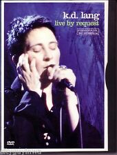 K.D. LANG Live by Request 2001 DVD NTSC Video 5.1 Dolby A & E Music Series