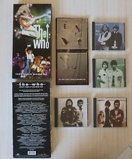 LONG COFFRET 4 CD + LIVRE THE WHO THIRTY YEARS OF MAXIMUM R&B