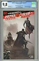 Justice League Vs Suicide Squad #1 CGC 9.8 Mattina Black & White Variant Cover B