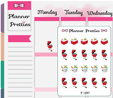 P1597 Cookout Grill Planner Stickers