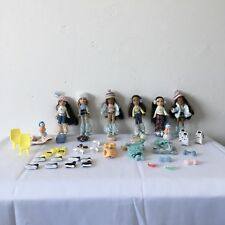 Rare 6 Lil Bratz Winter Wonderland Dolls and Some Accessories Bundle