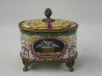 99937581-dss Lattina Ceramica/Bronzo Storicismo 12x10x13cm